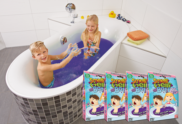 4 or 8 packs of Zimpli Kids' Smelli Gelli Baff Bubblegum