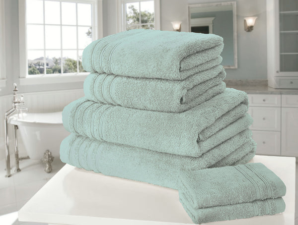 6pc Rapport Home So Soft Zero-Twist Bath Towels