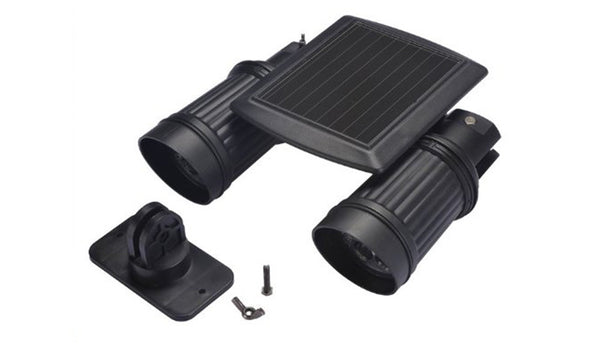Twin Motion Solar Sensor Light