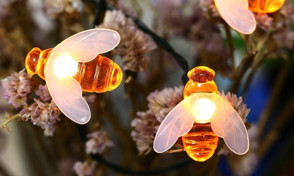 GloBrite Honey Bee Solar Lights