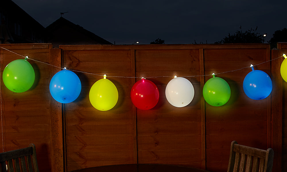 GloBrite LED Battery Balloon Colour String Lights