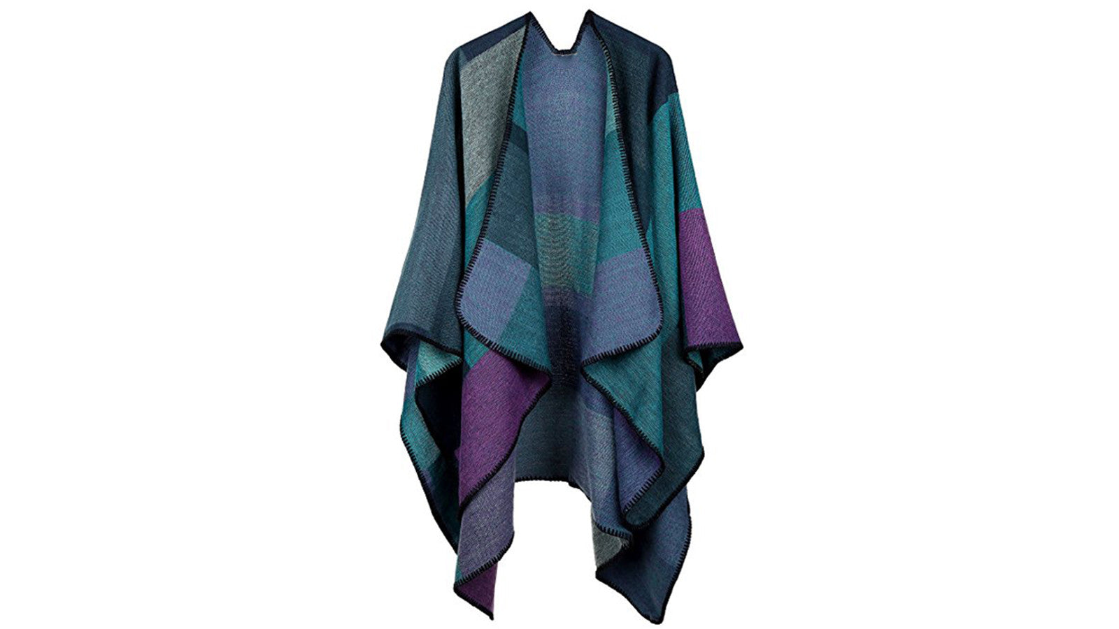 Women's Stylish Winter Poncho Capes