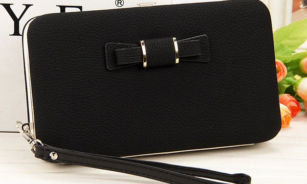 Bow Tie Travel Purse