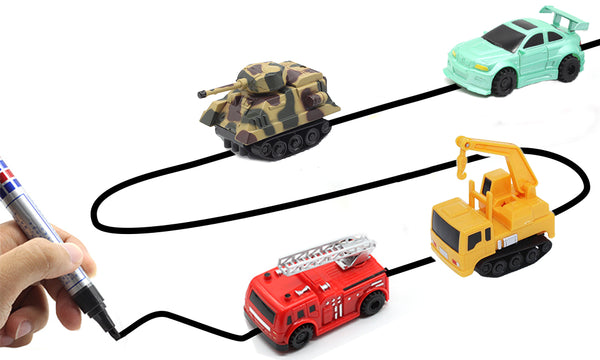 Inductive Toy Vehicles
