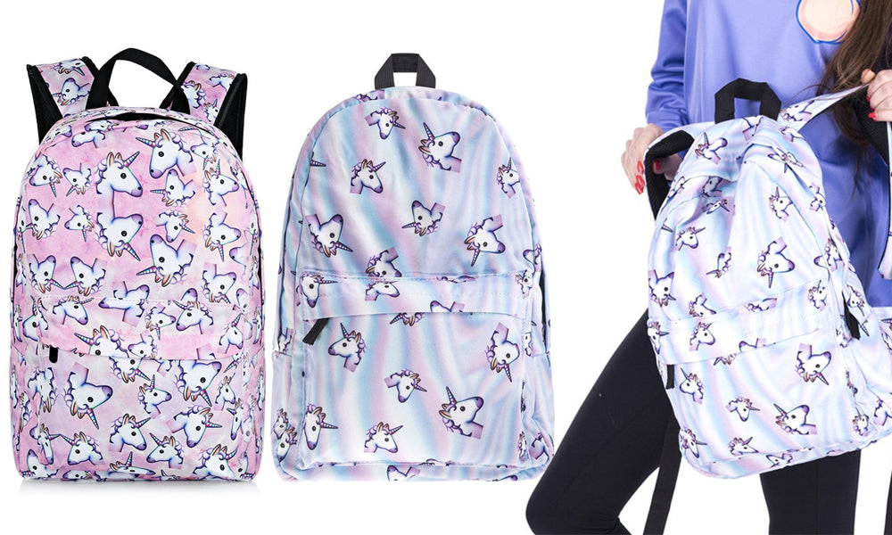 Unicorn Backpacks - 2 Styles
