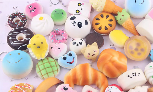10pc Squishy Charms
