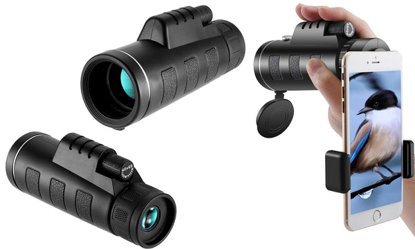 Dynergy long range monocular telescope with accessories v