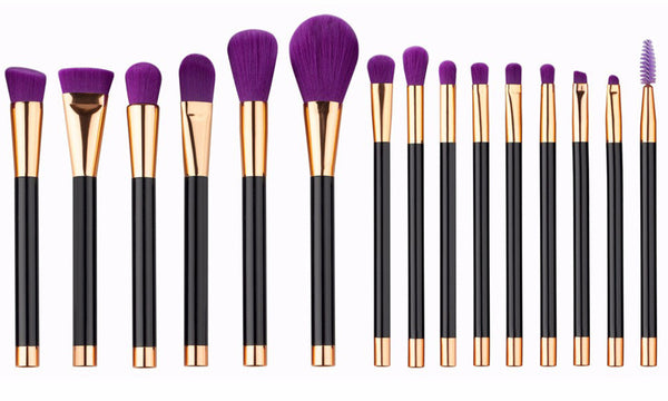 15 piece Make up Brushes