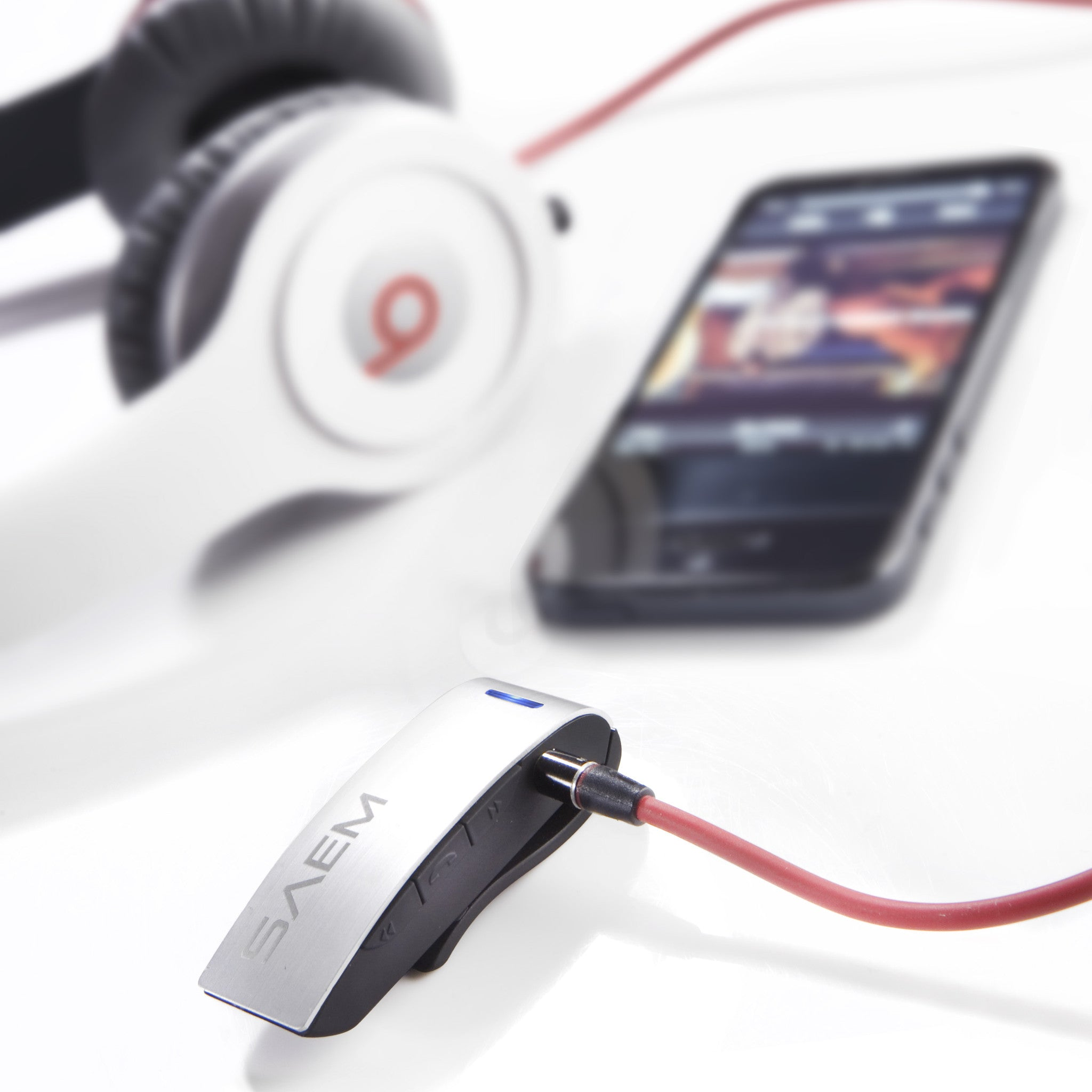 SAEM S4 Wireless Bluetooth Receiver with Track Control
