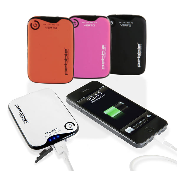 Pebble Verto portable charger - 3700mah