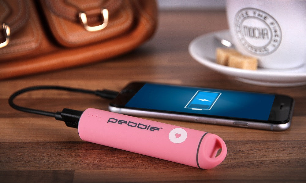 Pebble Breast Cancer Now Powerstick Power Bank
