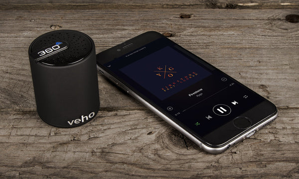 Veho 360° M3 Portable Bluetooth Speaker