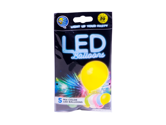 Wakadabaloon LED Light Up Balloons