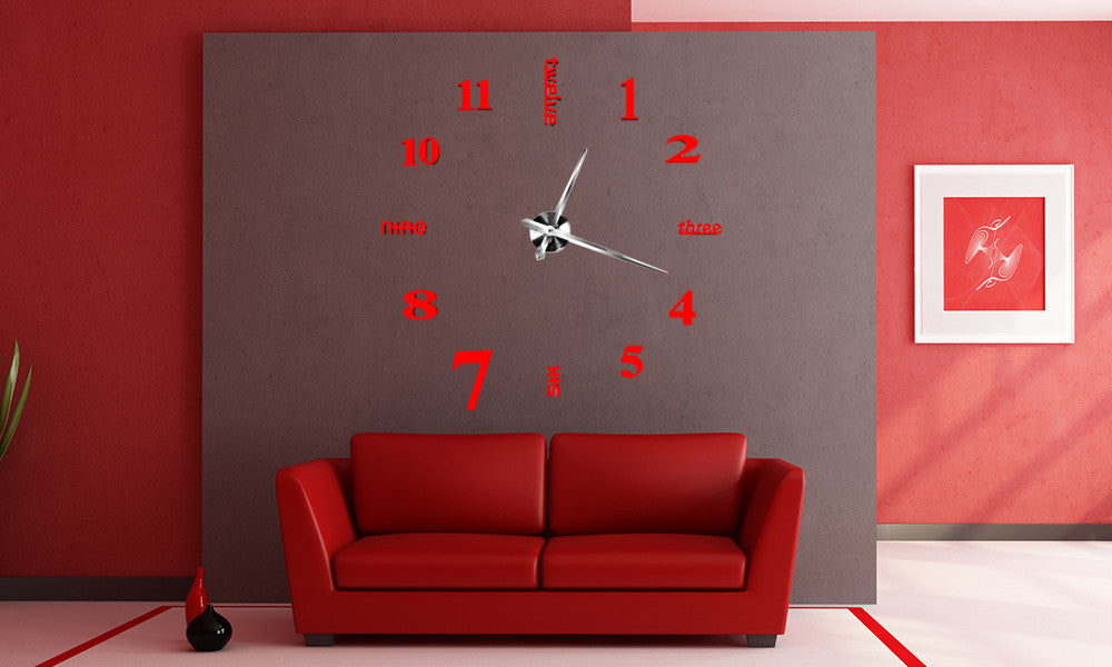 3D DIY Wall Clock