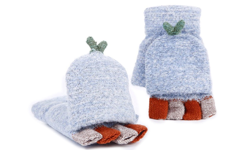 Womens Fingerless Mittens