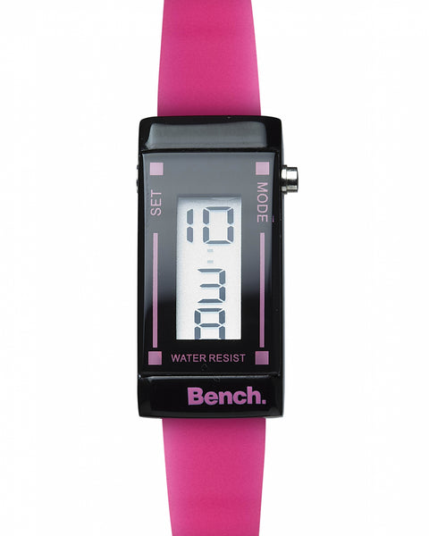 Bench ladies thin strap digital watch
