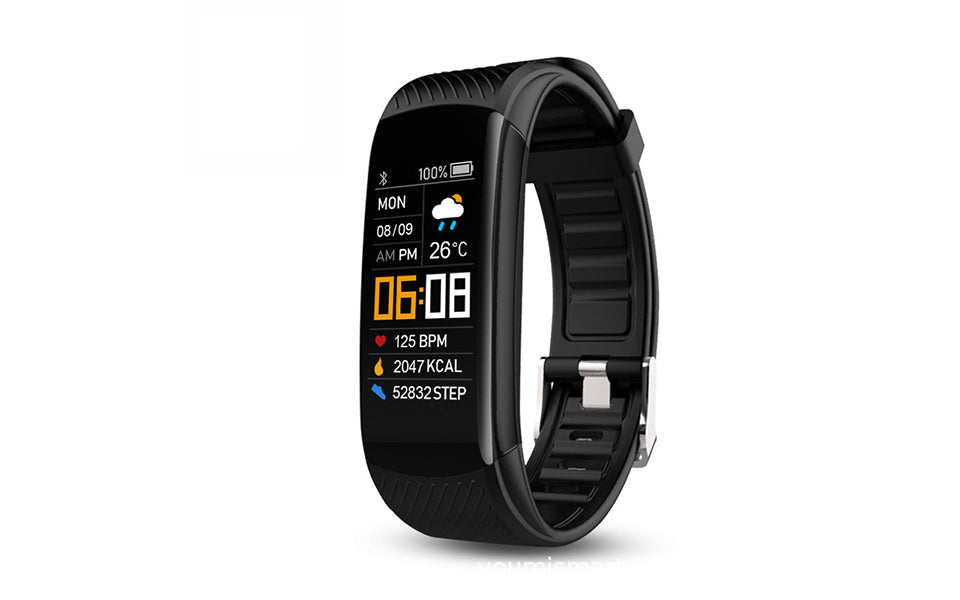 Smart Activity Tracker Watch with Heart Rate and Sleep Monitor