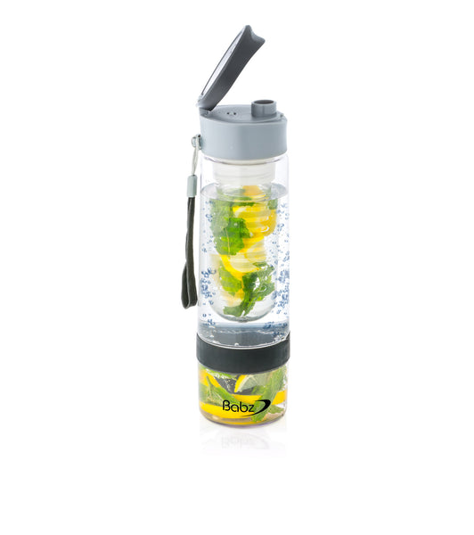 InterFuse Fruit Infusion Juicer Infusing Infuser Water Bottle Sports