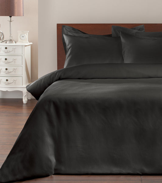 Satin Stripe Duvet Set