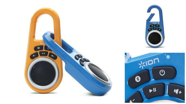 Clipster Wireless Speaker with Built-in Clip