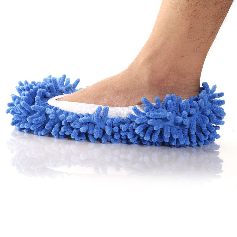 Floor Polishing & Cleaning Mop Slippers