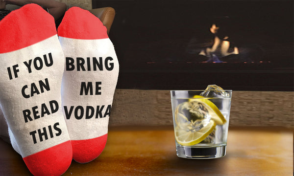 'Bring Me Vodka' Socks