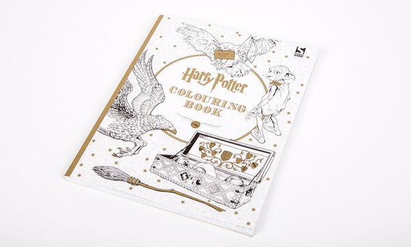 Harry Potter Paperback Colouring In Book