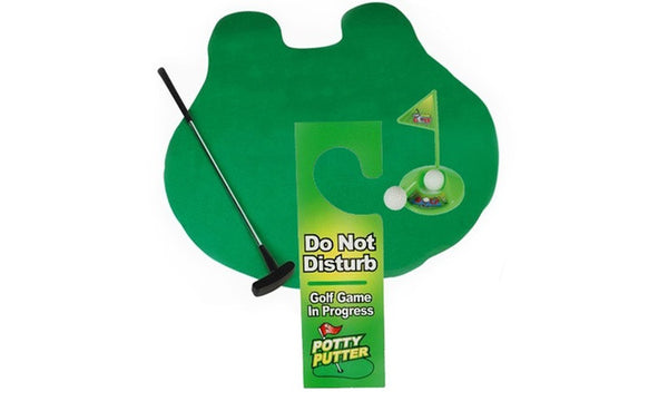 7-Piece Potty Golf Set with Putter