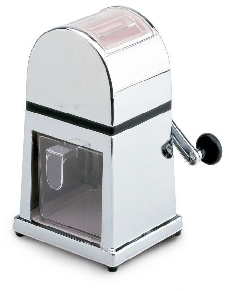 Chrome metal ice crusher