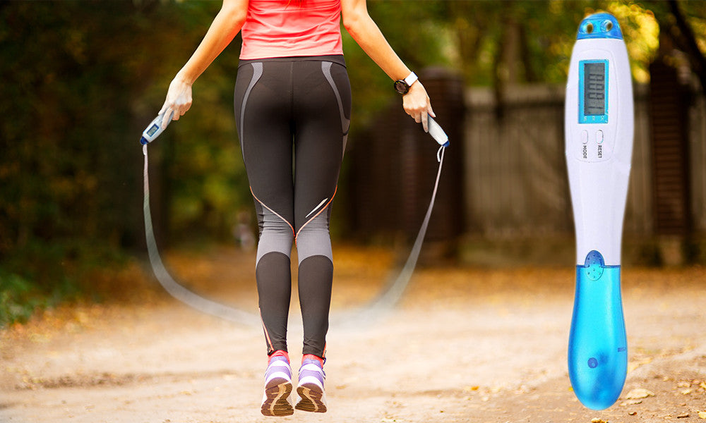 Electronic Calorie Counting Skipping Rope