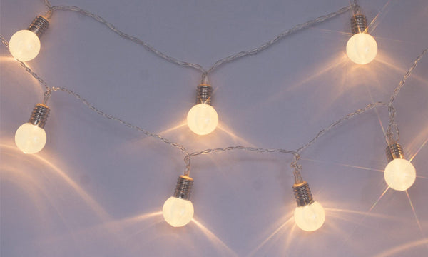 Mini Retro Bulb Battery Operated Fairy String Lights