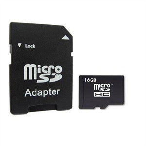 Micro SD card with SD Adaptor