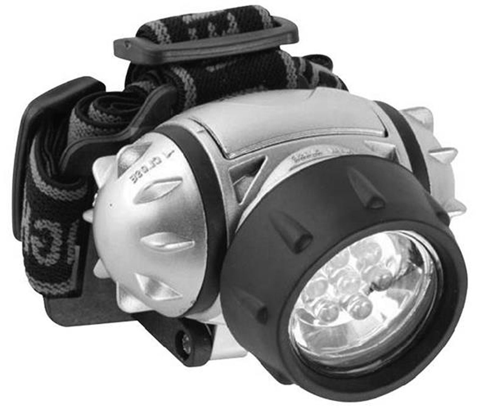 12-LED Headlamp with Adjustable Strap
