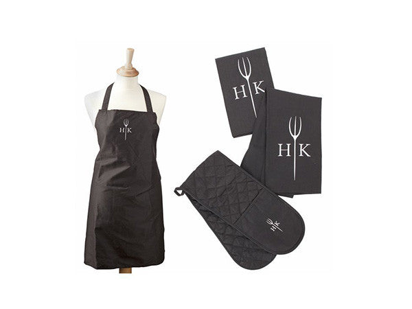 Hell's Kitchen 4 Piece Kitchen Textile Set