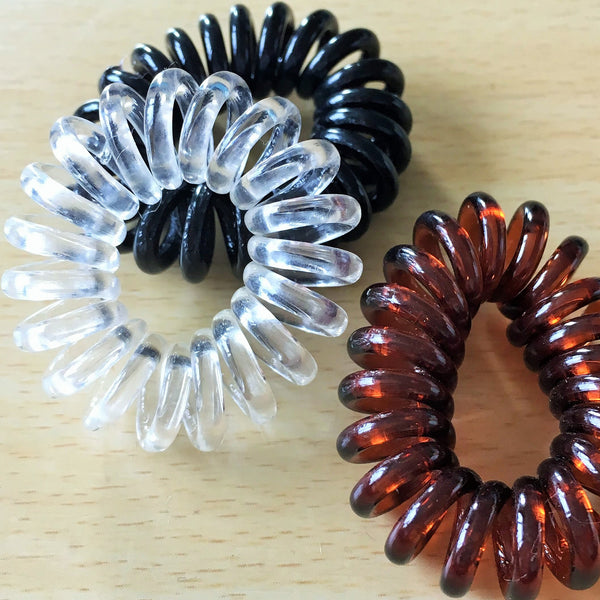 Copy of Spiral Hair Bobble 6 Pieces