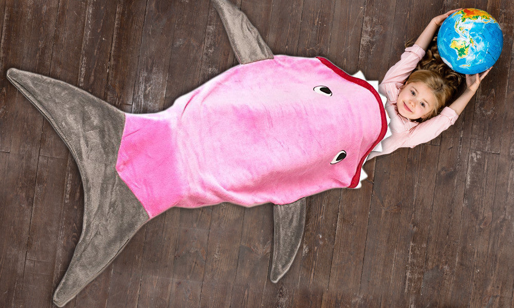 Kids' Shark Blanket