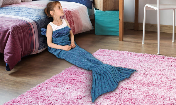 Kids' Mermaid Blankets