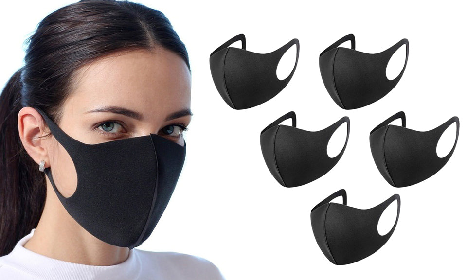 Pack of 5 Anti Pollution Masks