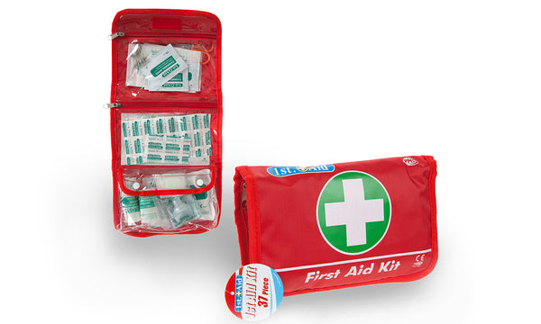 37 Pc Deluxe Nylon Pouch First Aid Kit