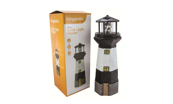 38cm Solar Light House