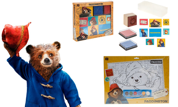 Paddington Poster and Stamp set