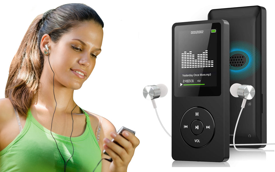 Ultra Slim MP3 Player with FM Radio and Voice Recorder