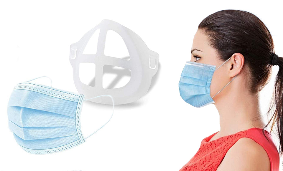 Silicone 3D Mask Holders