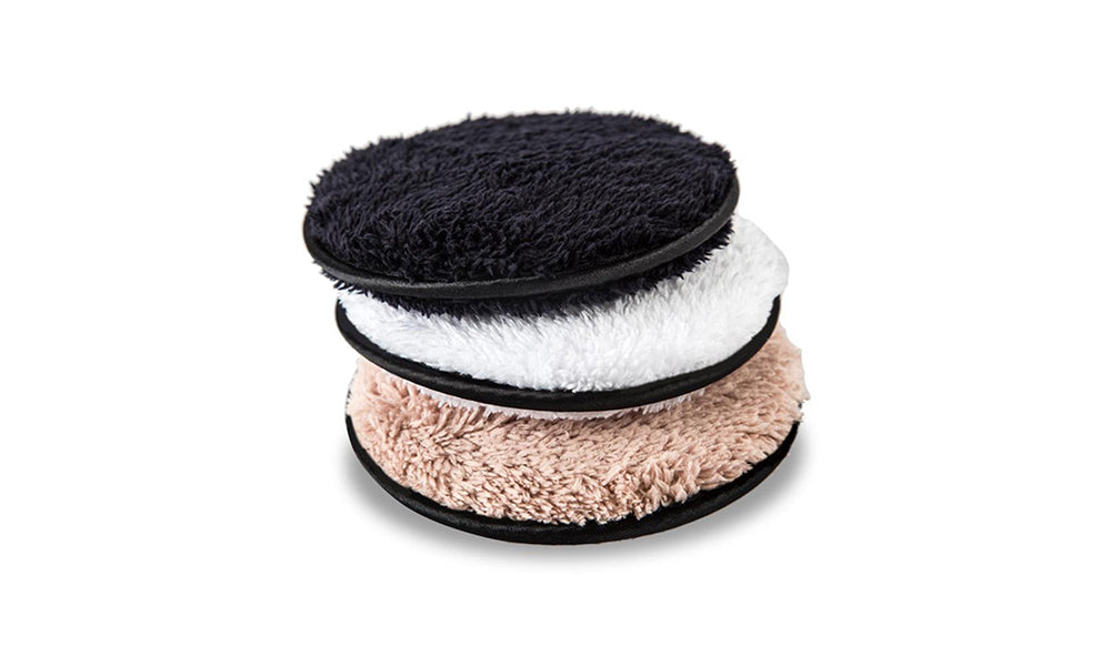 3-Pack Microfiber Make Up Remover Pads