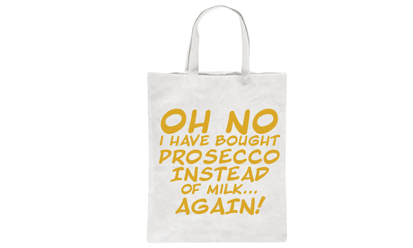 Alcohol Instead of Milk Tote Bags