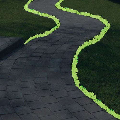 Glow in the Dark Pebbles, White or Multi-Coloured