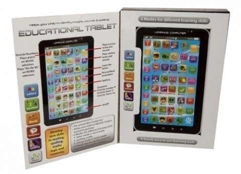 TABLET PHONE STYLE EDUCATIONAL BOARD