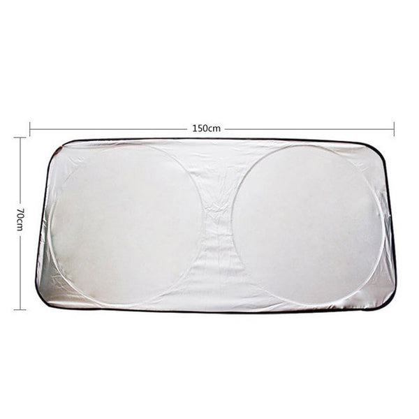Folding Reflective Windscreen Sunshade