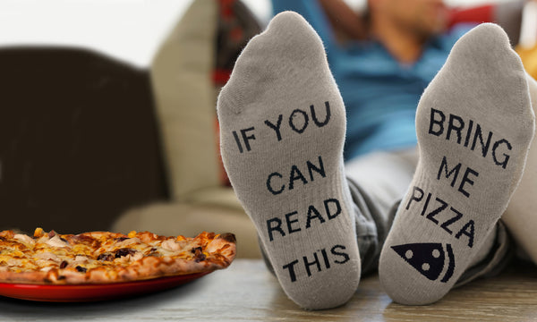 'Bring Me Pizza' Socks