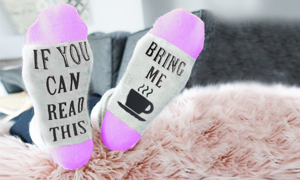 Bring Me Tea / Coffee Socks